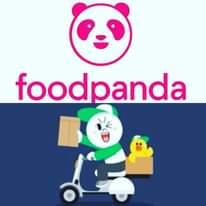 、「foodpanda」というテキストの画像のようです